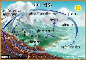 The Water Cycle  Hindi  From Usgs Water