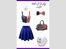 Top 18 Girl Outfit Designs For Patriot & July 4th – Famous