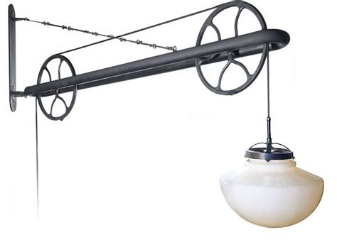 large pulley industrial swing arm l at 1stdibs