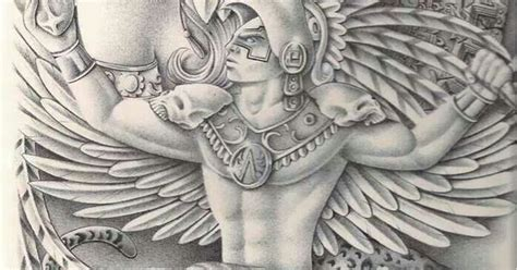 aztec warrior tattoos pinterest aztec warrior aztec