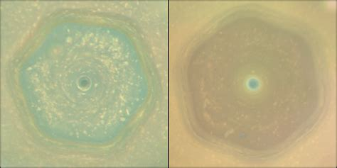 cassini views saturn 39 s dramatic transition from winter to