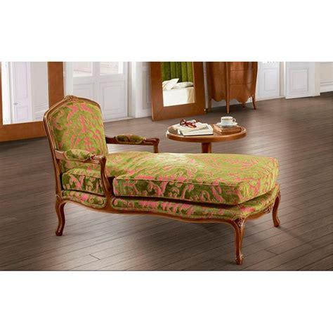 chaise de luxe chaise longue de salon de luxe tissu vintage vert barriga