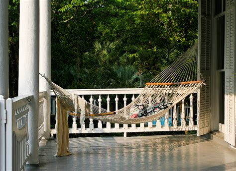 How To Hang A Hammock On A Porch by Front Porch Ideas