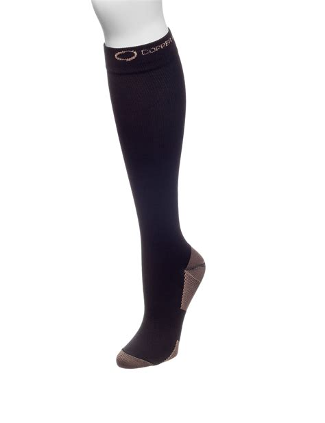 copper fit knee high compression socks stage stores