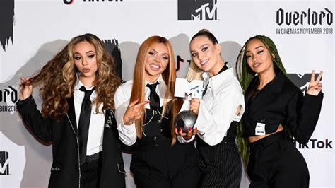 Little Mix pose naked and scrawled with insults for new ...