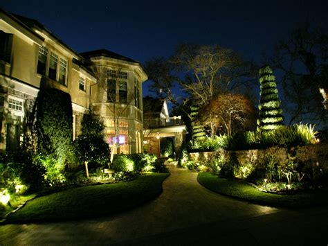 alamo led landscape lighting conversion by artistic