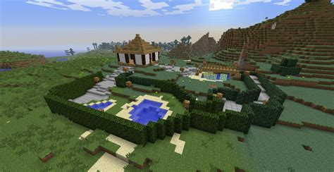 Some Asian Zen Garden Thing Minecraft Project