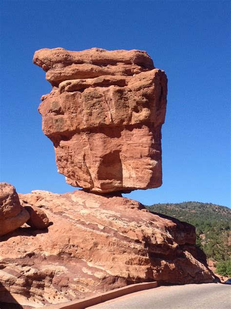 Garden Of The Gods Best Time To Visit by Balanced Rock In Garden Of The Gods Colorado Springs