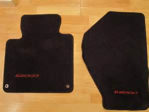 s2000 floor mats oem fs picture added oem s2000 floor mats s2ki honda