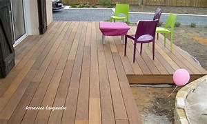 Bois Exotique Pour Terrasse : finition terrasse bois arrondie ~ Dailycaller-alerts.com Idées de Décoration