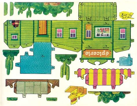 images  paper houses  pinterest toys