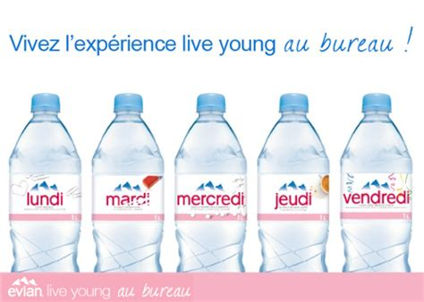 bureau evian le bureau evian bureau evian evian verre consign 50cl x