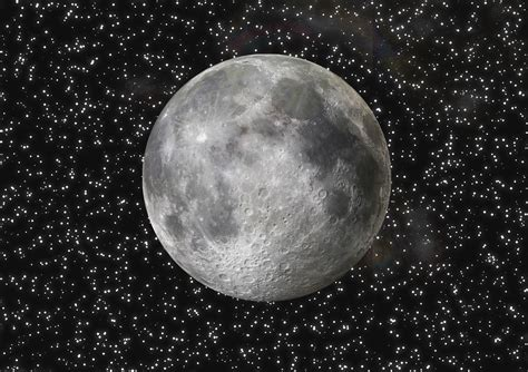 galaxy full moon  stock photo public domain pictures