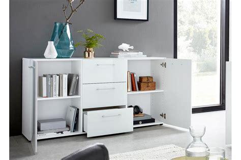 meuble buffet blanc fa 231 ades en verre cbc meubles