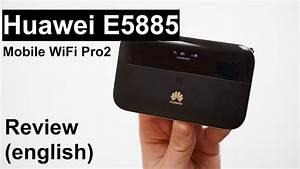 Review  Huawei E5885 Mobile Wifi Pro2  English