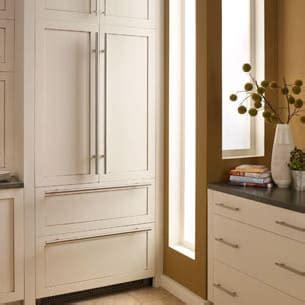 liebherr hc   built  panel ready  door french door refrigerator  powercooling