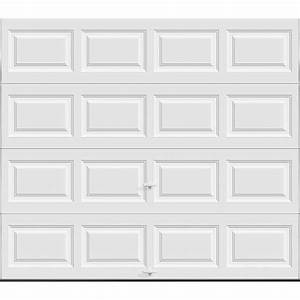 Clopay classic collection 9 ft x 7 ft 65 r value for 9 x 7 insulated garage door prices