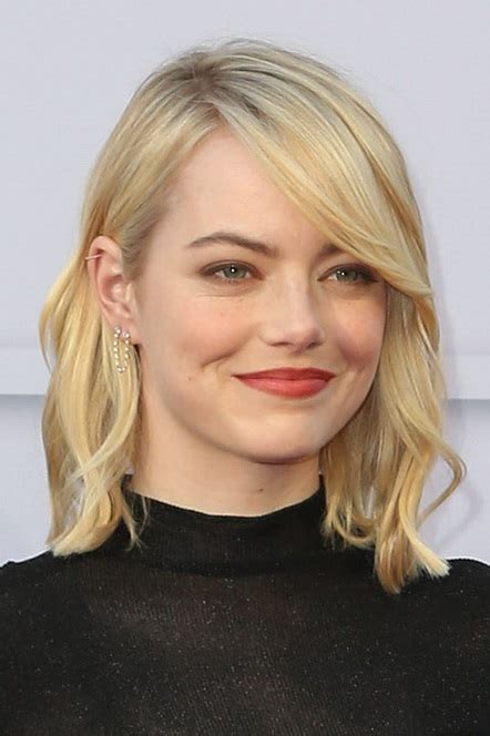 celebrity hairstyle news check  emma stones