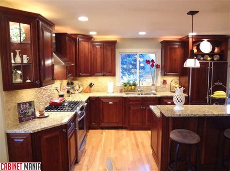 mahogany maple kitchen cabinets rta mahogany cabinets cherry hill maple wood cabinet mania 7323