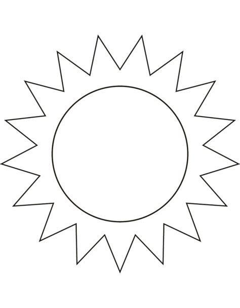 Disegni Sole Da Colorare AZ Colorare