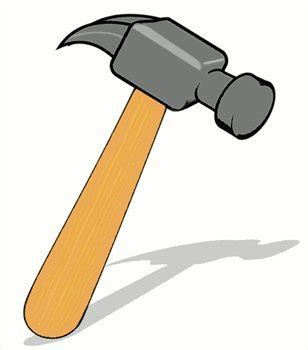 cartoon hammer clipart 46