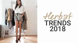 Herbst Trend 2018 : herbst winter trends 2018 2019 die 8 gr ten modetrends natashagibson youtube ~ Watch28wear.com Haus und Dekorationen