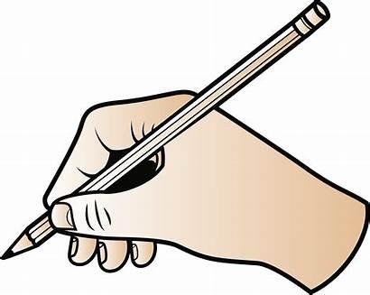 Clipart Cartoon Writer Pencil Writing Transparent
