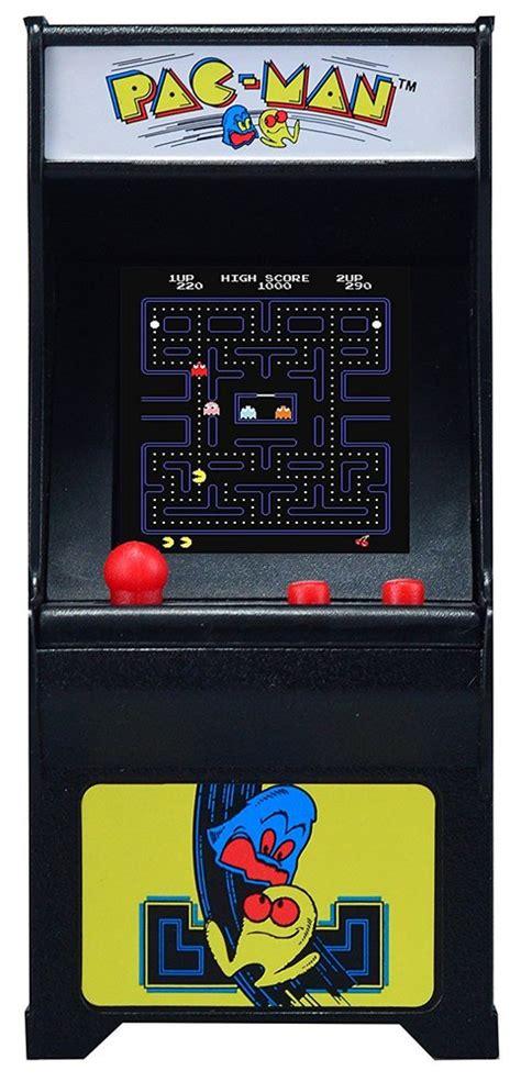 pac man tiny arcade game toy sense