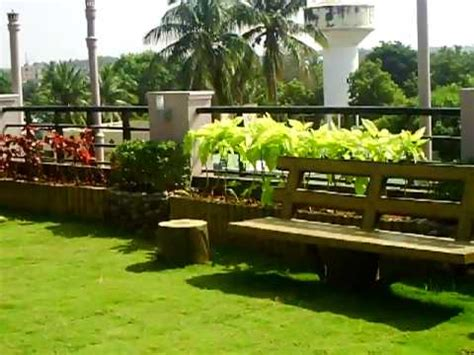 house gardening in india roof top garden on our house in india youtube