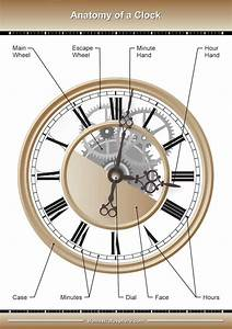 The Main Parts Of A Wall Clock
