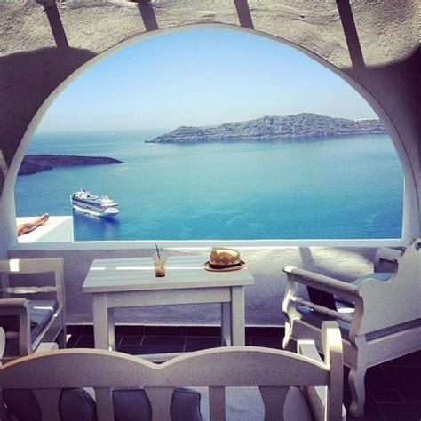 Ocean View Santorini Greece Travel Pinterest