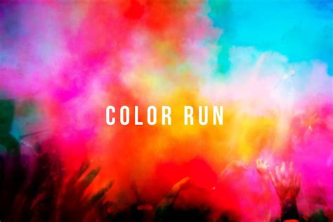 color run to host 5k color run navajo health foundation
