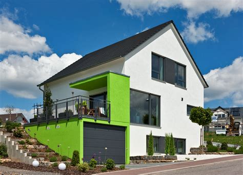 Häuser Mit Satteldach Und Garage by Kundenhaus Familie Thiel Zaunm 252 Ller Massivhaus Gmbh