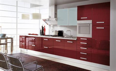 cuisine couleur bordeaux brillant cuisine et modele reflet bordeau brillant moderne