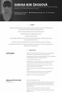 Resume Examples For Professional Event Manager Resume Example Manager Resume Event