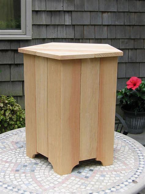 table el patio wooden propane tank box table backyard bliss