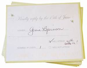 8 best images of examples of wedding rsvp cards wedding With wedding invitations without rsvp cards