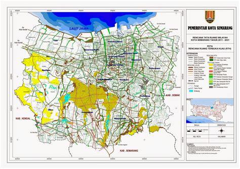 peta lengkap indonesia peta rencana ruang terbuka hijau