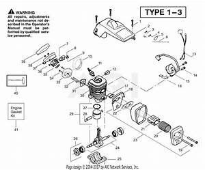 Poulan Pp221 Gas Chain Saw Type 2  221 Gas Chain Saw Type