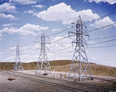 tralicci alta tensione walthers 533121 tralicci alta tensione per elettrodotto 4 pz