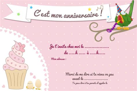 Carte Invitation Anniversaire Fille Carte Invitation Anniversaire Gratuite Fille Lourdoueix23