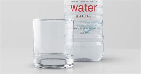 psd water plastic bottle mockup psd mock  templates