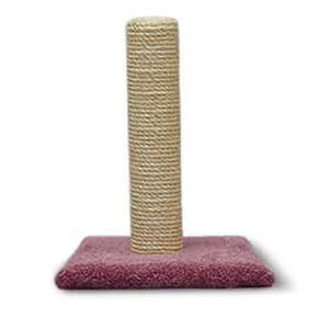 sisal cat scratching post 20 quot cat scratching post with sisal walmart