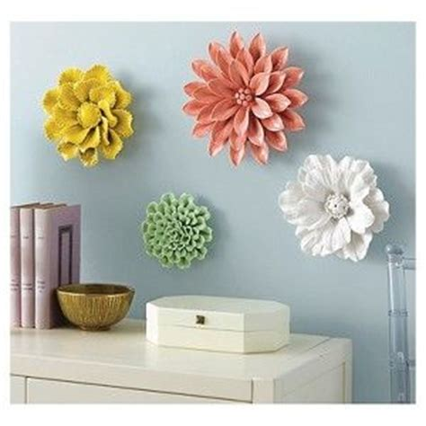 threshold ceramic flower wall art for the wall