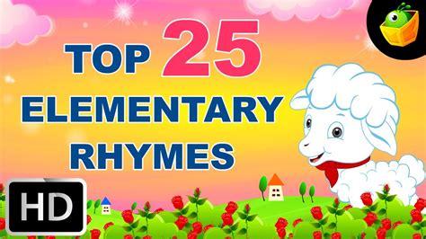 Top 50 Hit Nursery Rhymes top 25 hit songs for elementary kids 40 mins english