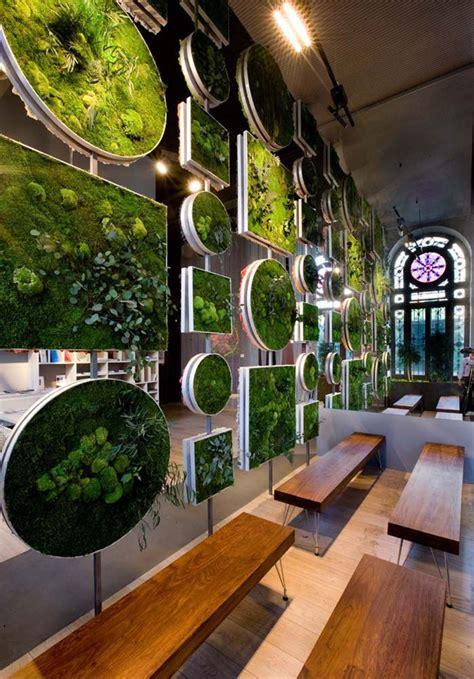 moss walls  interior design trend  turns  home