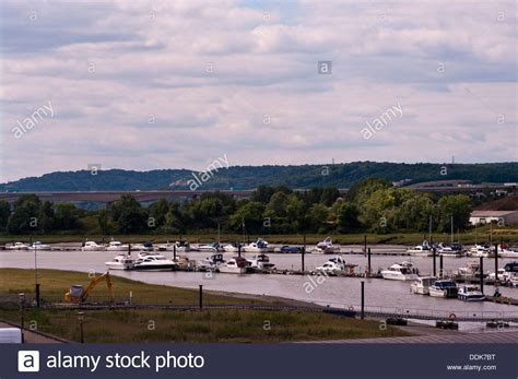 Boat Moorings In Kent by Boat River Medway Kent Stock Photos Boat River Medway