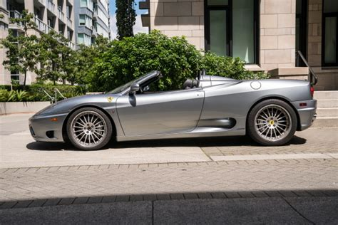 Een top van 300 km/h en ruim 20 l/100 km: 2004 Ferrari 360 Modena Spider   Mile's End Motors