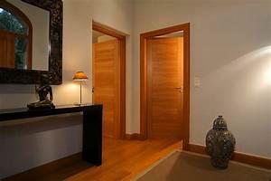 bloc porte interieur modeles et prix d39un bloc porte With porte de garage avec porte interieur bois massif prix