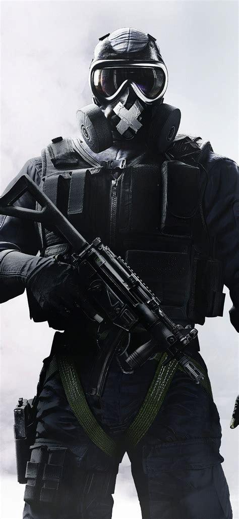 1125x2436 Tom Clancys Rainbow Six Siege Soldier Iphone Xs